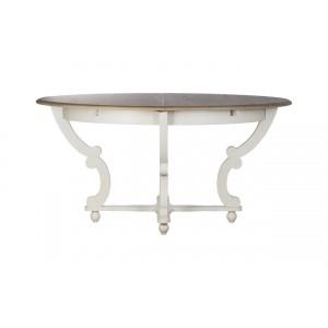 Стол обеденный раскладной (белый) SH-HH.DT.11(бел.)