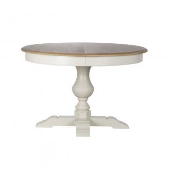 Стол обеденный (раскладной) белый SH24-HH.DT.08-MA(бел.)