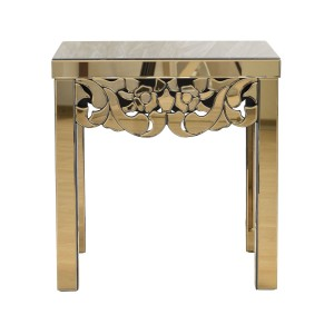 Стол зеркальный квадратный KFC851