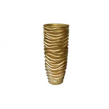 Кашпо напольное золотое ZS-C845-34
