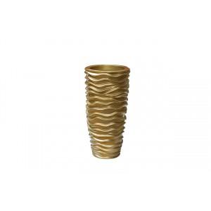 Кашпо напольное золотое ZS-C845-26