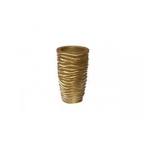Кашпо золотое ZS-C845-19