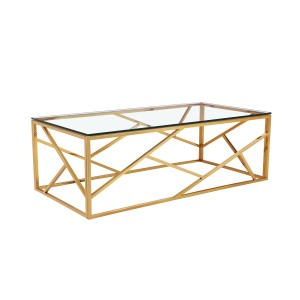 Журнальный стол золотой GY-CT2051214GOLD