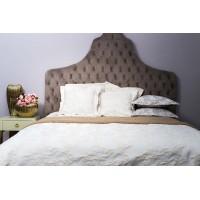 Покрывало на двуспальную кровать 240х260 бежевое Bianca 16AMR-BIANCA PK2.02-ECR