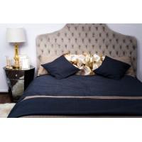 Покрывало на двуспальную кровать 240х260 тёмно-синее Natalie 16AMR-NATALIE PK2.DBL