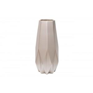 Ваза керамическая (жемчужно-белая) WF02-40