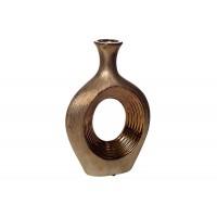 Ваза керамическая декоративная (золотая) 18H2538S-5