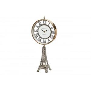 """Часы настольные на подставке """"Эйфелева башня"""" IK50782"""