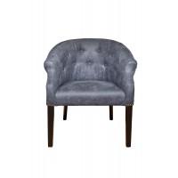 Кресло низкое синее PJC347-PJ713