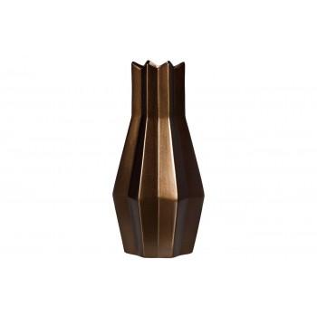 Ваза керамическая золотисто-коричневая WF07-42
