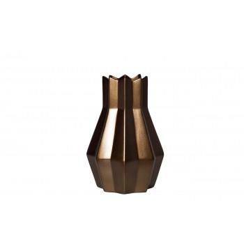 Ваза керамическая золотисто-коричневая WF07-32
