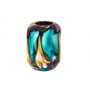 Ваза стеклянная (цветная) HJ1510-26-M43