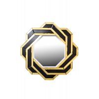 Зеркало декоративное черно-золотое KFE7H018