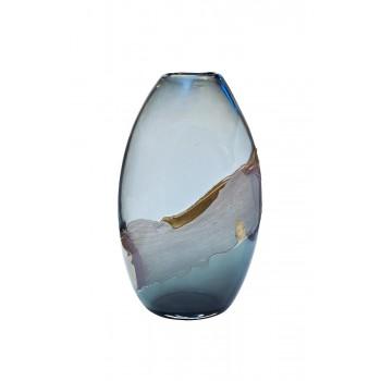 Ваза стеклянная цветная HJ1459-41-Q87