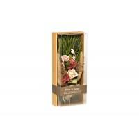 Розы стабилизированные в коробке 34JN-023