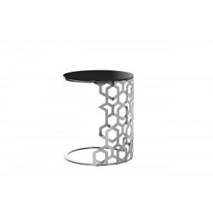 Столик приставной серебряный 13RXET3043-SILVER