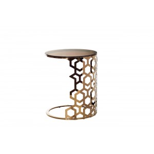 Столик приставной золотой 13RXET3044-GOLD