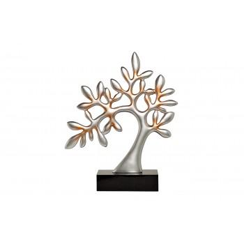 """Статуэтка """"Дерево"""" серебряная на подставке D1735"""