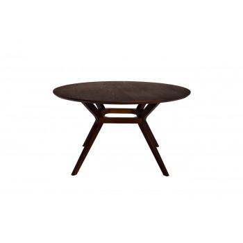 Стол обеденный круглый коричневый 43SW-T07