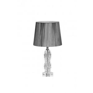 Лампа настольная стеклянная (серебряный абажур) X381207