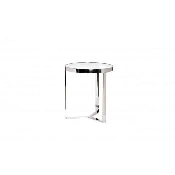 Столик журнальный с прозрачным стеклом (цвет хром) 47ED-ET031