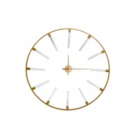 Часы настенные круглые золотые 19-OA-6157
