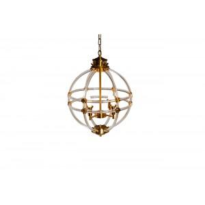 Светильник подвесной винтажный (золото) K2MP-766BR