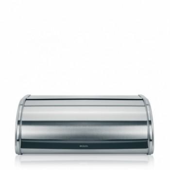 Хлебница Brabantia со сдвигающейся крышкой - Matt Steel (матовая сталь) 348921
