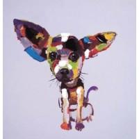 """Картина маслом """"Chihuahua"""" Kare 33051"""
