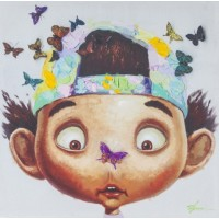 "Картина ""Boy with Butterflys"" Kare 37786"