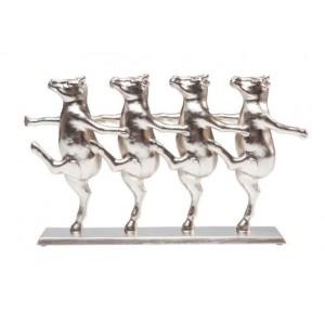 """Элемент декора """"Танцующие коровы"""" золото Kare 39291"""