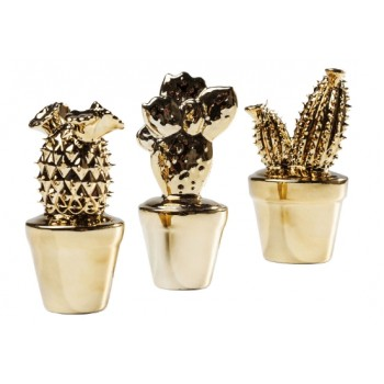 """Элемент декора """"Cactus"""" в ассортименте золото Kare 39944"""