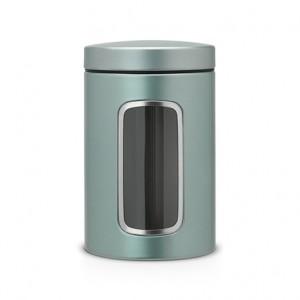 Контейнер для сыпучих продуктов с окном Brabantia 484360