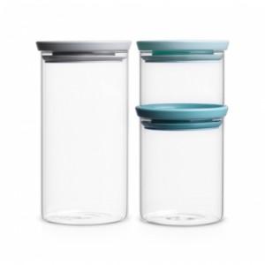 Набор модульных стеклянных банок 3 шт. Brabantia 298325