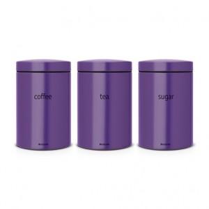 Набор контейнеров 3 предмета Brabantia 484186