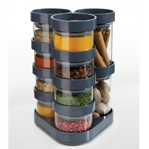 Набор ёмкостей для хранения специй Spice Store Carousel Joseph Joseph 81004