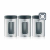 Набор контейнеров с окном 3 предмета Brabantia 335341