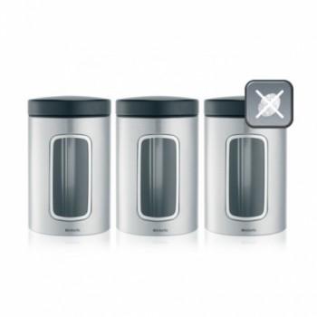 Набор контейнеров с окном 3предмета Brabantia 335341