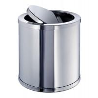 Корзина настольная для мусора с вращающейся крышкой MINI WINDISCH 89182CR