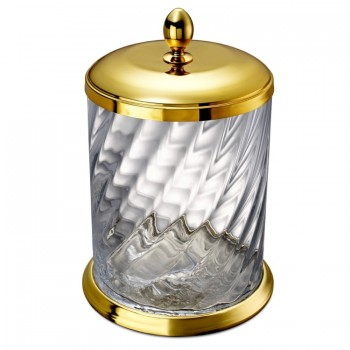 Корзина для мусора Spiral WINDISCH 89802O Gold