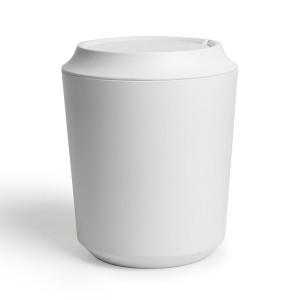 Корзина для мусора с крышкой Corsa/Kera белая Umbra 1005487-660