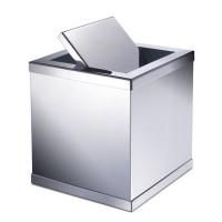 Корзина настольная для мусора с вращающейся крышкой MINI WINDISCH 89181CR