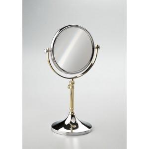 Зеркало настольное 3-х кратное хром/золото WINDISCH 99104CRO