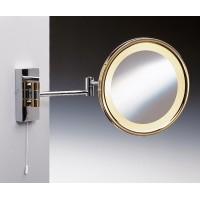 Зеркало подвесное с подсветкой (желтый свет) 3-х кратное WINDISCH 991509DCR