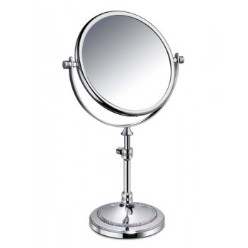 Зеркало настольное SHINE LIGHT (3 LINES) 2-х кратное SWAROVSKI WINDISCH 99542CR