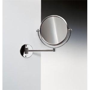 Зеркало подвесное на одинарном держателе 2-х кратное WINDISCH 99139CR