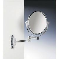 Зеркало подвесное на двойном держателе 2-х кратное увеличение WINDISCH 99245CR