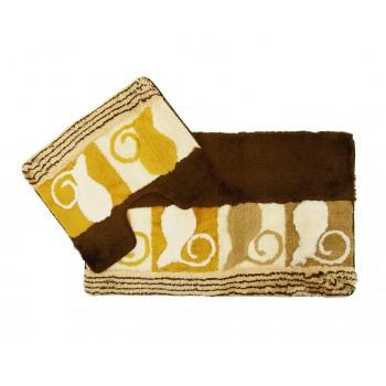 Комплект ковриков для ванной 2 предмета PRIMANOVA D-14950 Arista