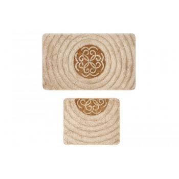 Комплект ковриков для ванной 2 предмета PRIMANOVA D-19999 STELLA