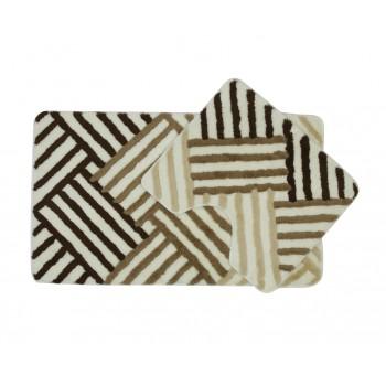 Комплект ковриков для ванной 2 предмета PRIMANOVA D-15836 ARYA